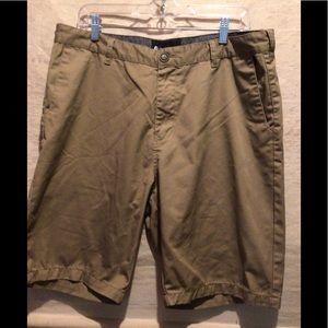 Billabong Mens Khaki Casual Shorts